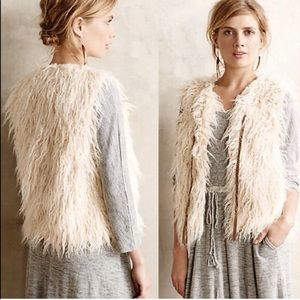 HEI HEI Anthropologie Fur Vest